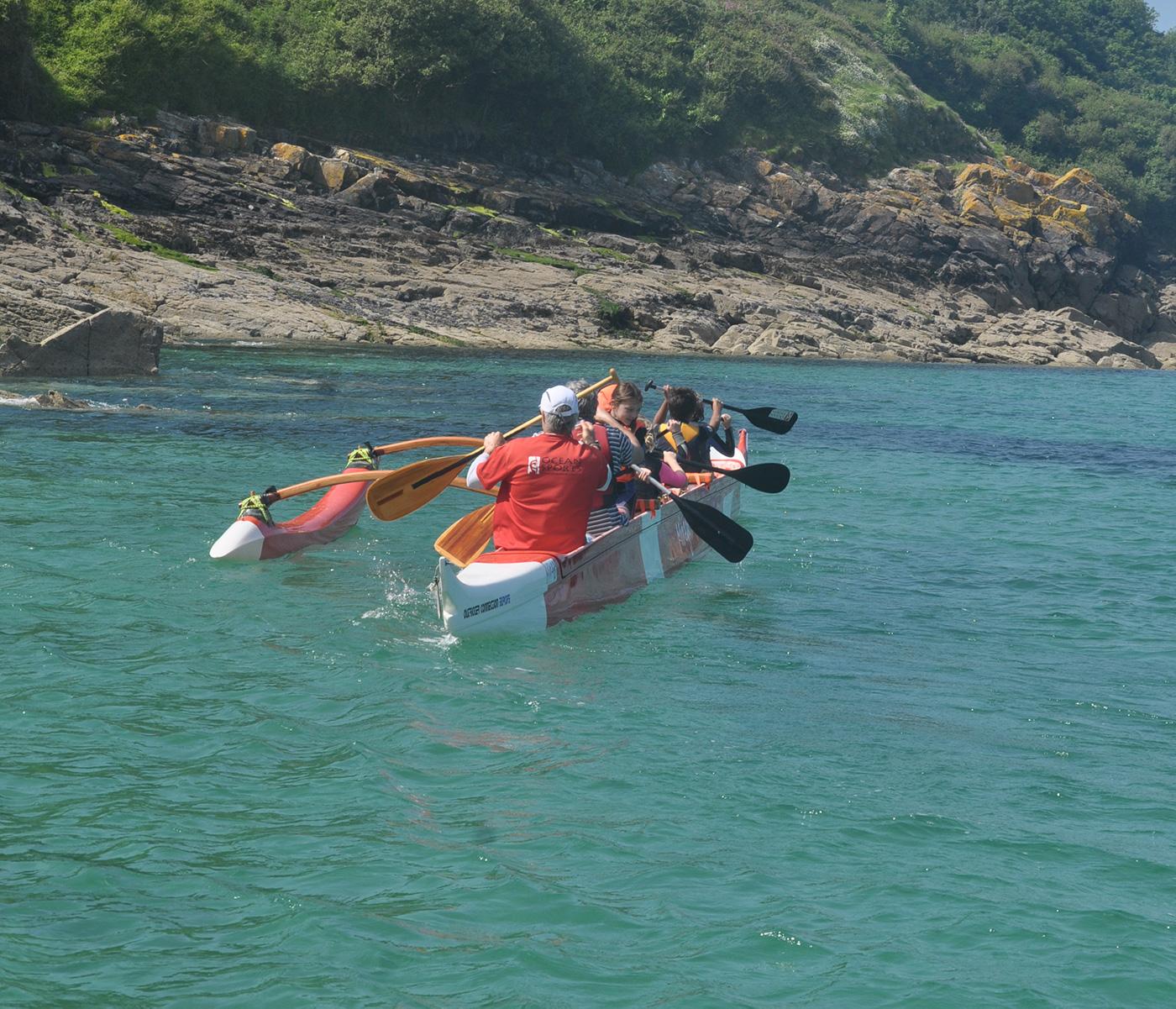 Group Activities Coastal Explorer Safari in an Outrigger Canoe