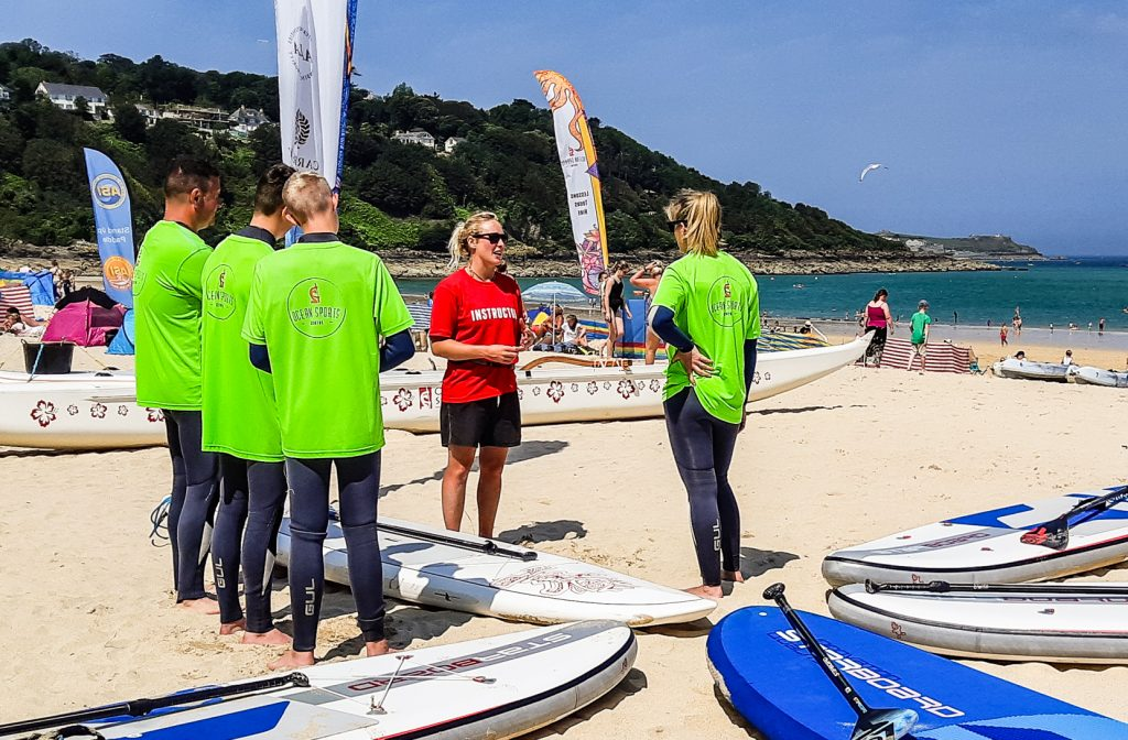 Ocean Sports Centre Stand Up Paddleboarding lesson