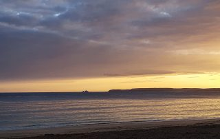 St Ives Bay Sunrise From Carbis Bay