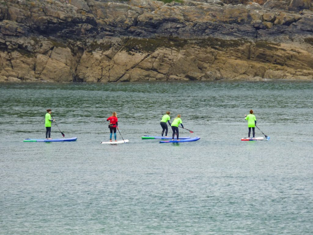 Stand Up Paddleboarding Lesson on Carbis Bay