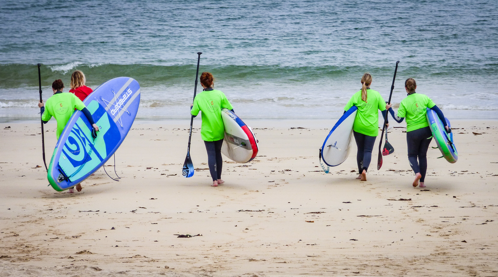 Stand Up Paddleboarding Lessons with Ocean Sports Centre