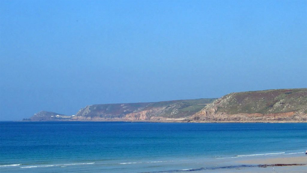 Stand up Paddleboard tour and things to do - Sennen Beach Coastal SUP Tour
