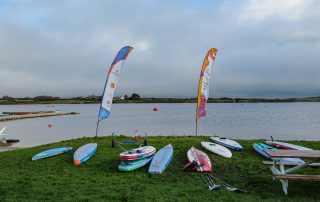 Brass Monkeys Paddleboard and SUP Race at Stithians Lake