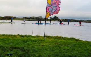 Brass Monkeys Paddleboard and SUP Race start at Stithians Lake
