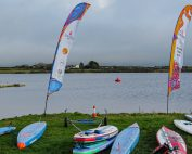 Stithians Lake for Brass Monkeys Paddleboard and SUP Race