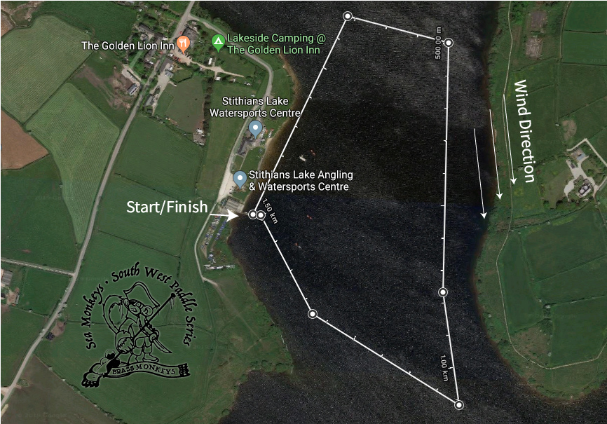 Stithians Lake race plan